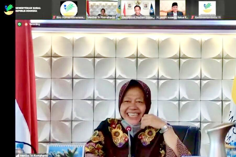 Percepat Pengentasan Masalah Sosial di Indonesia, Mensos Luncurkan Program Pejuang Muda