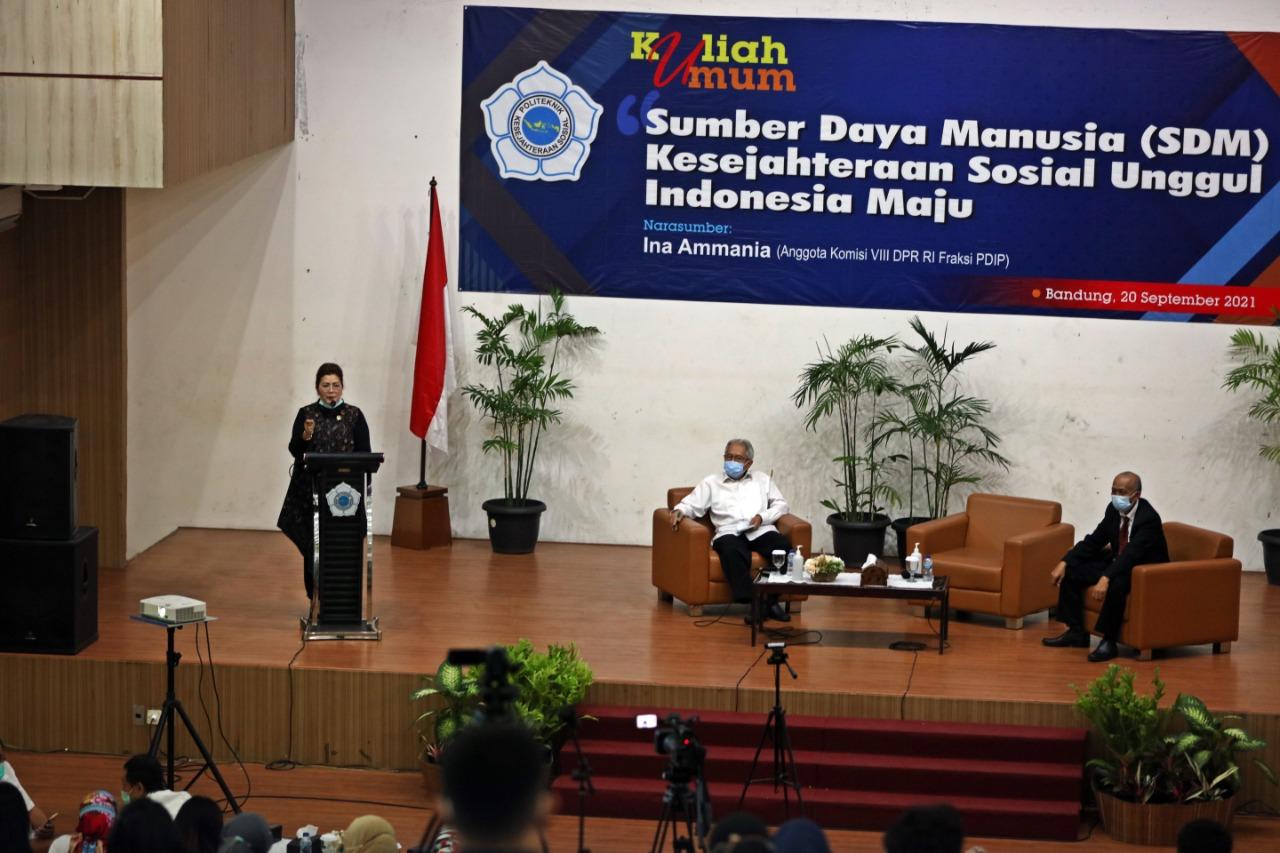 Mahasiswa Poltekesos Bandung Wajib Punya Jiwa Sosial