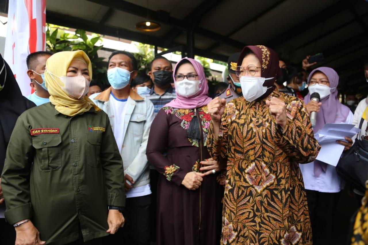 Hadir Bawa Banyak Manfaat, Istri Gubernur: Kehadiran Mensos Beri Kebahagiaan bagi Masyarakat Gorontalo
