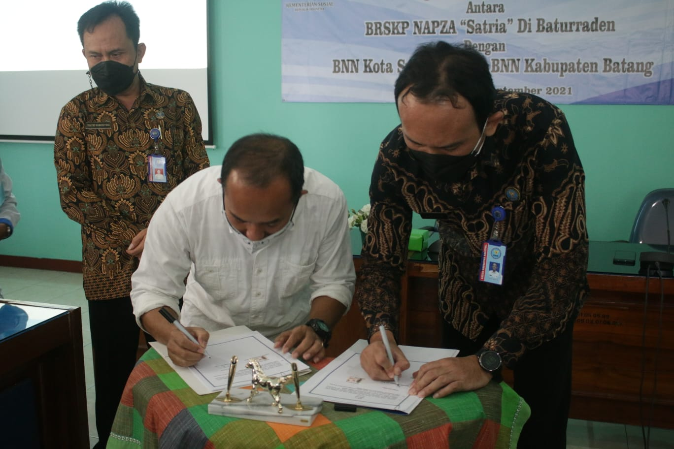 "Balai ""Satria"" Jalin Sinergi dengan BNNK Surakarta dan Batang Beri Layanan Rehabilitasi Berkelanjutan bagi KPN"
