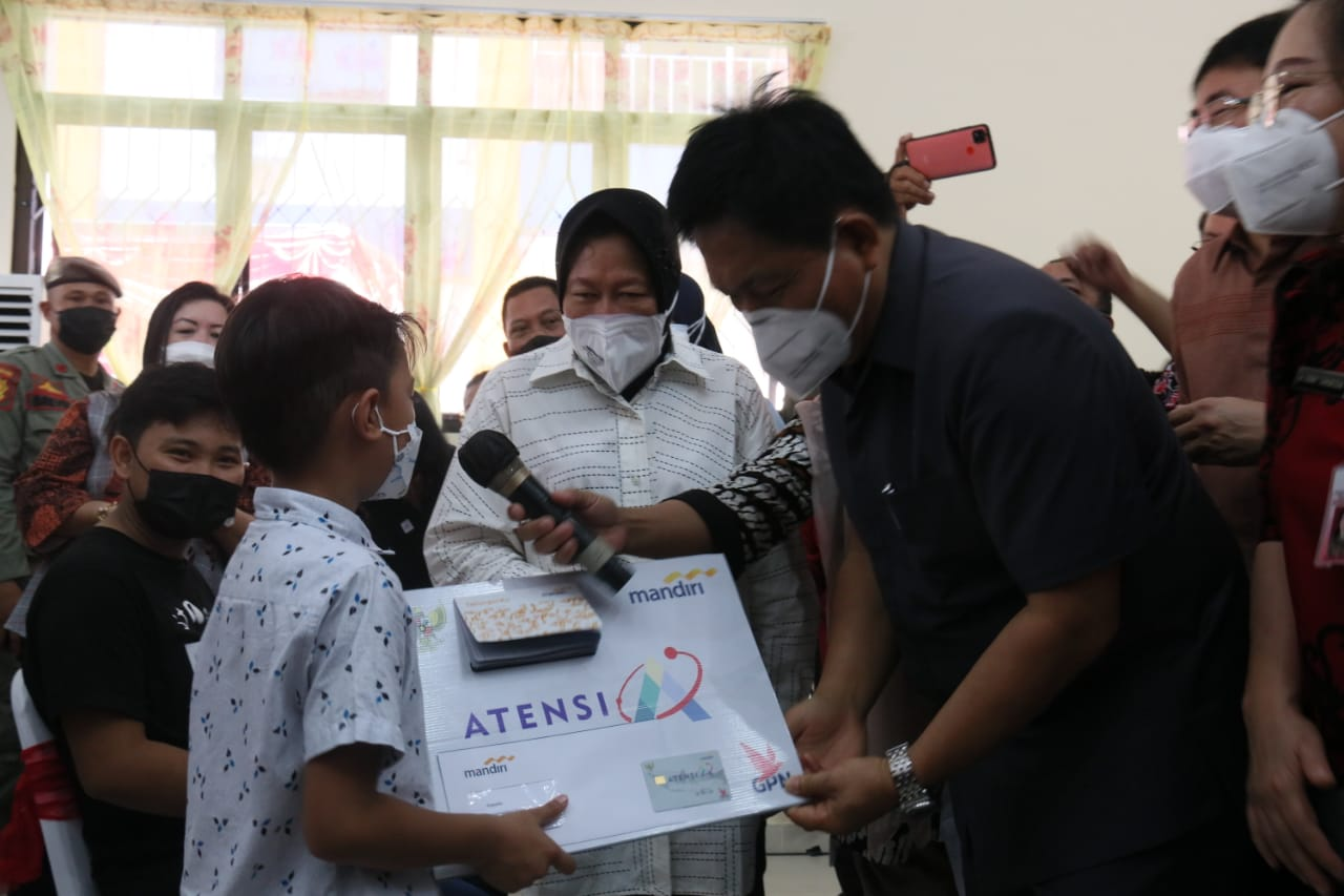 Kemensos Jangkau Warga Rentan di Sulawesi Utara, Dukungan ATENSI Langsung Didistribusi