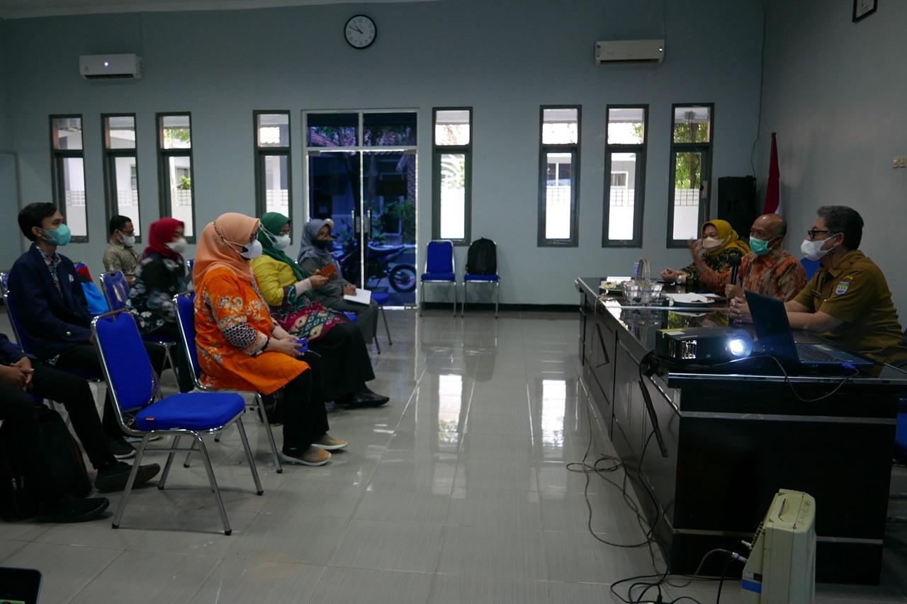 Poltekesos Bandung Gelar Dengar Pendapat Umum Asesmen Mahasiswa di Dinas Sosial Kabupaten Ciamis