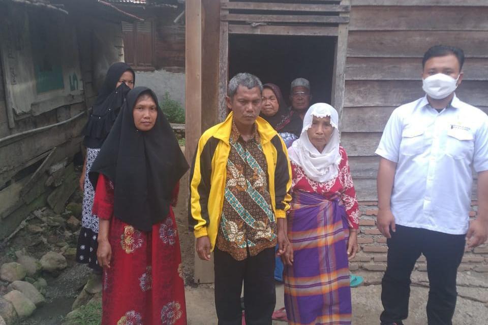 12 Tahun Terpisah, Kementerian Sosial Lakukan Reunifikasi DH Kepada Keluarga Di Sumatera Utara