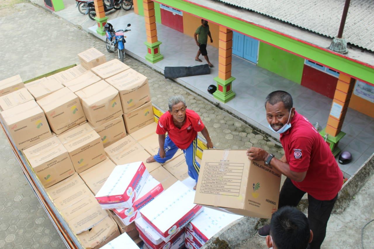 Realisasikan Pendirian Lumbung Sosial di Trunyan, Kemensos Mulai Kirimkan Bantuan Secara Bertahap